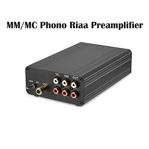Nobsound Little Bear T8 mm/MC RIAA Turntable Phono amp Preamplifier Audio HiFi Phonostufe Vorverstärker