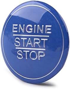 beler Motor Start Stop Button Schalter Trim Carbonfaser