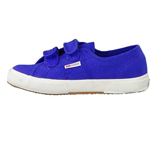 Superga 2750 Jvel Classic, Sneakers Basses mixte enfant Intense Blue