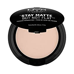 Nyx Professional Makeup Stay Matte Not Flat Powder Foundation, Creamy Natural, 7.5g