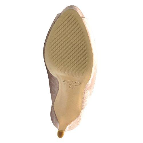 BEPPINA sandales femme daim Rose