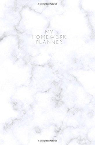 Preisvergleich Produktbild My Homework Planner: Homework Assignment Notebook; Homework planner 2017-2018; Student Homework Planner; Weekly List Notebook; 5.25 x 8; 52 weeks