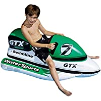 Swimline 9027SL GTX Wet Ski & Wild Ride - En la Bicicleta de Agua Flotador Inflable 9027