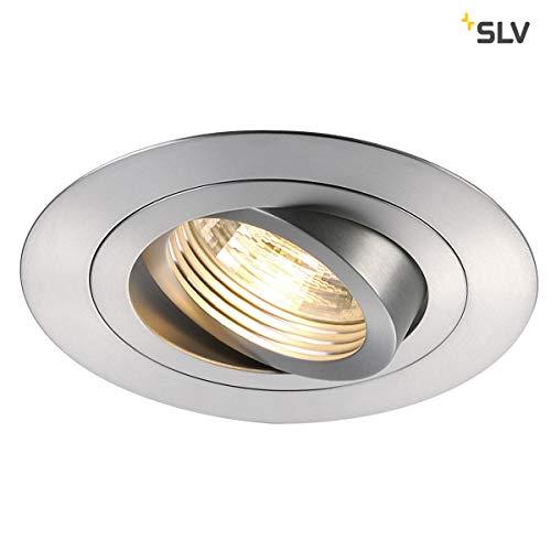 SLV New TRIA XL Einbauleuchte, Aluminium, GU10, alu gebürstet -