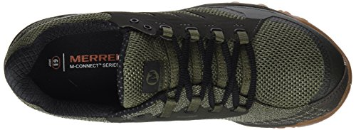 Merrell All Out Charge, Scarpe da Trail Running Uomo Verde (Dusty Olive)