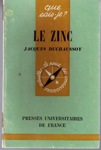 Le zinc par Jacques Duchaussoy