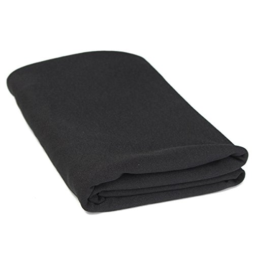 1.6mx0.5m panno nero griglia dell'altoparlante stereo Panno Gille tessuto Speaker Mesh