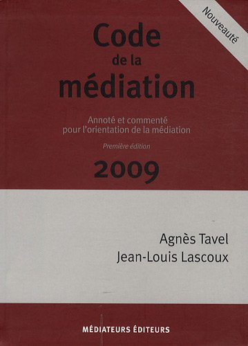 Code de la Mediation