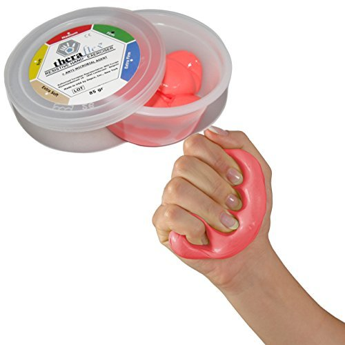 Msd PASTA kompressible HAND DITA rot MEDIA nicht toxisch THERAFLEX PUTTY arthritis