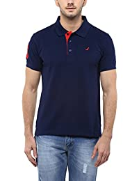 AMERICAN CREW Men's Cotton Blend Polo TShirt