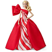 Barbie FXF01 2019 Holiday Barbie Doll, 11.5 Inch, Blonde
