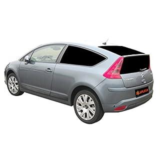 Citroen Auto Sonnenschutz fertige, passgenaue Scheiben Tönung, Sonnenblenden, Keine Folien, Vorsatzscheiben C4 Coupe Bj.04-10