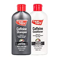 Triple Eight Caffeine Shampoo and Conditioner 250ml for All Hair Types