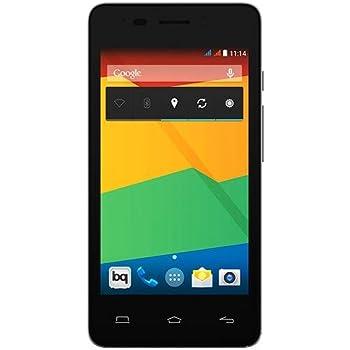 Bq 03BQAQU26 Aquaris E4 Smartphone (10,2 cm (4 Zoll) Pantalla IPS Display, 8 Megapixel Kamera, 1GB RAM, Dual-SIM, WiFi, 8GB interner Speicher, Android 4.4)