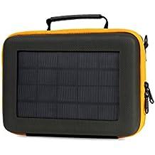 SunnyBAG Action Solar Case für GoPro, andere Action-Cams und USB-ladbare Geräte (Hochleistungs-Solarpaneel mit 3,15 W Leistung, USB-kompatibel, 300g)