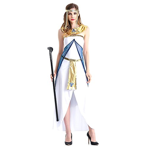 Kopfschmuck Griechische Kostüm Göttin (Slocyclub Damen Grace Griechische Göttin Kostüm Aphrodite Langes)