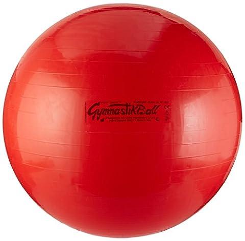 Ledragomma Gymnastik-Ball Pezzi 75 cm Gymnastikball, Rot, One Size