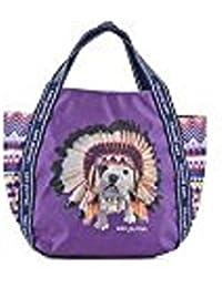 Téo Jasmin, Moyen cabas Téo apache violet