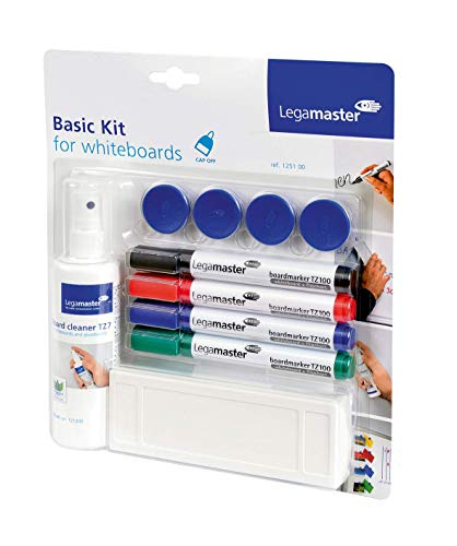 Legamaster 7-125100 Whiteboard Zubehörset, Basic Kit