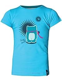 ABK Super Cat Tee Camiseta de Manga Corta, Niños, Azul (Tropic Blue), XS