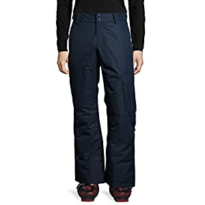 Ultrasport Advanced Ski Pants Cargo for Men, Ski Pants, Snowboarding Trousers, Navy, Large