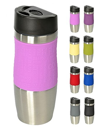 Wellgro® - Termo, 400ml,acero inoxidable, sin BPA, vaso aislante,