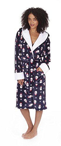 Varsani Clothing - Robe de chambre - Femme Bleu Marine