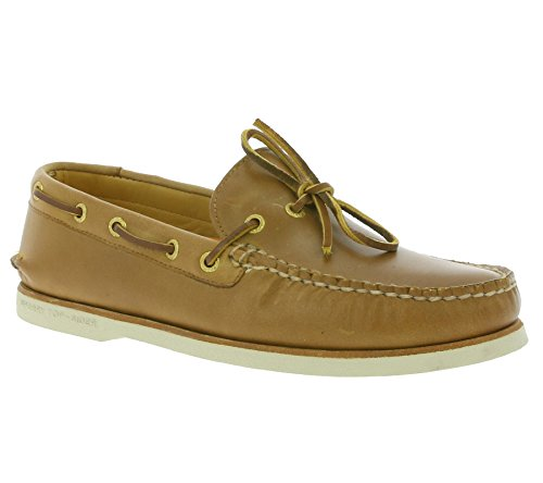 Sperry Top-Sider Homme Gold Cup Authentic A / O 1-Eye Chaussures bateau, Marron Marron