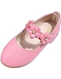 Zapatos Niños Casuales De la Flor Sandalias del Sólido Todo el Partido Fiesta Princesa