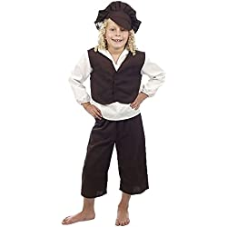 Islander Fashions Childrens Victorian Hu�rfano Boy Costume Kids Book Week Day Parties Disfraz