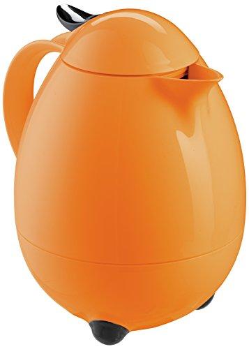 Leifheit 28438 7018-Termo, Capacidad de 1 l, Color, Naranja Atardecer, 22x16x22 cm