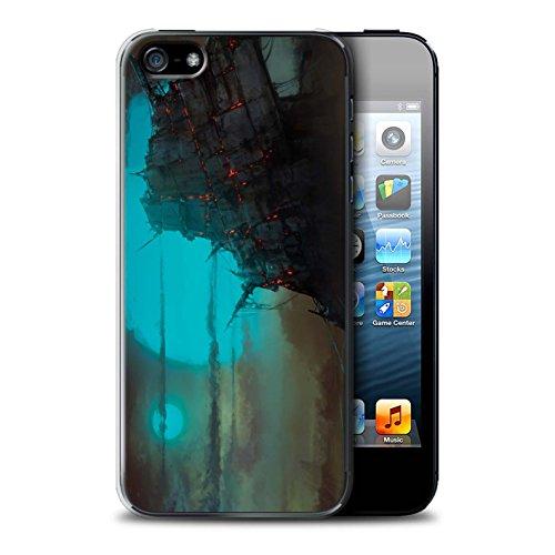 Offiziell Chris Cold Hülle / Case für Apple iPhone SE / Apokalypse Muster / Gefallene Erde Kollektion Gift Haupt