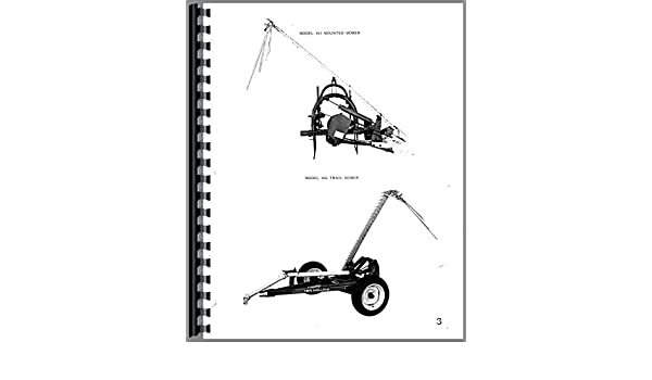 New Holland 451 Sickle Bar Mower Parts Manual: Amazon co uk