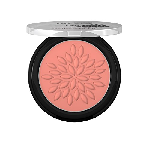 lavera So Fresh Mineral Rouge Powder Puder ∙ Farbe Charming Rose ∙ sanfter schimmer & seidig zart ∙ Natural & innovative Make up ✔ Bio Pflanzenwirkstoffe ✔ Naturkosmetik ✔ Augen Kosmetik 1er Pack (1 x 5 g) -