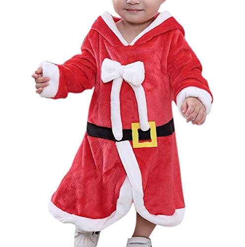 Bingotrade Baby Weihnachten Claus Outfit Strampler Kleid Kleinkind Santa Xmas Kostüm