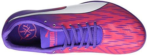 Puma Evospeed Sprint 7 Wn, Scarpe da Corsa Donna Rosa (Sparkling Cosmo-electric Purple-ecowhite)