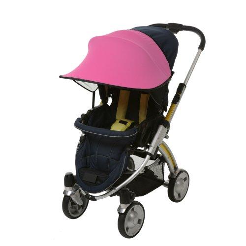 [Manito] New Sunshade / Sonnenschirm für Kinderwagen, Sportkinderwagen und Autositz, Weitsonnenschutz, UV-Cut, Universal und einfache...