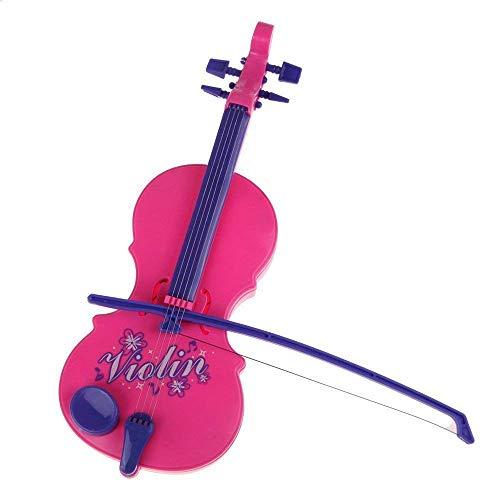 Vektenxi Violine Musical Spielzeug Kind Musik Spielzeug Kinder Musikinstrument Spielzeug Weisheit Entwicklung Puzzle Spielzeug Rosa 1 Stücke