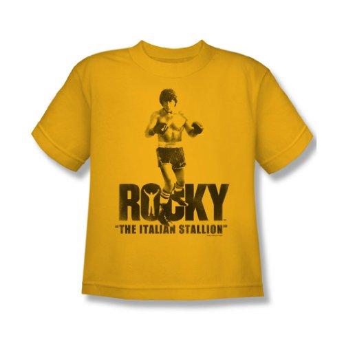 Rocky - Der italienische Hengst Youth T-Shirt In Gold, X-Large, Gold
