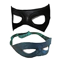 The Cosplay Company Green and Black Mask Combo Pack