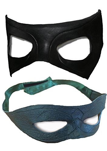 The Cosplay Company Grün und Schwarz Maske Combo Pack