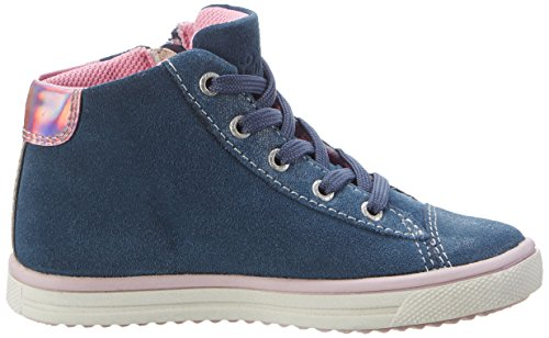 Lurchi Stelly, Chaussons montants fille Bleu jean