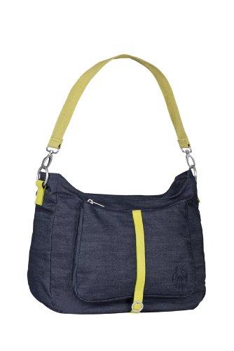 Preisvergleich Produktbild Lässig Green Label Shoulder Bag Wickeltasche mit verstellbarem Schultergurt inkl. Wickelzubehör, denim blue
