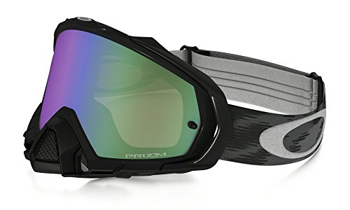 Oakley Cross Mayhem Pro MX jet black Lunettes – Prizm MX Jade Grau