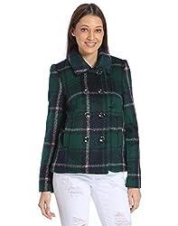 Vero Moda Womens Jacket (10138990_Black Iris_Large)