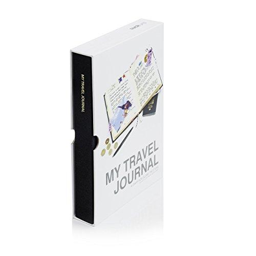 SUCK UK Mein Reisetagebuch – schwarz