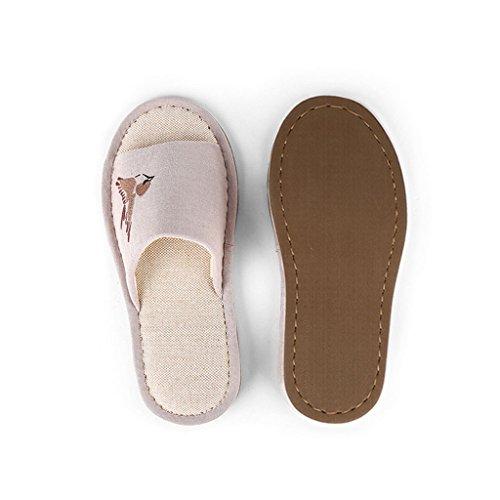 Para De Hombres Surgen Desgaste Zapatillas Algodón B Zapatillas Zapatos El De Al Verano Ligero Dww Bordadas Los Hogar Para Resistentes Y1w1vqU6