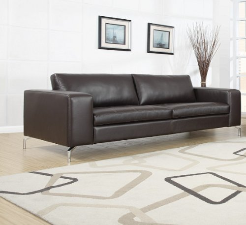 Madison Sofa Set 3er & 2er & 1er Wohnlandschaft Braun - 4