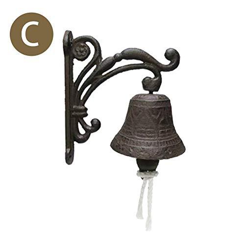Longrep Campana Puerta De Entrada Hierro Fundido Bell