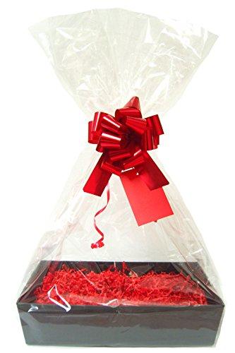 RED DIY Gift Basket Hamper Kit -...